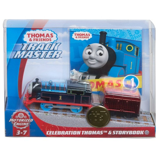 Fisher-Price Thomas & Friends Celebration Thomas & Storybook image number null