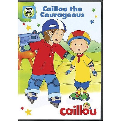 Caillou: Caillou the Courageous (DVD)(2016)