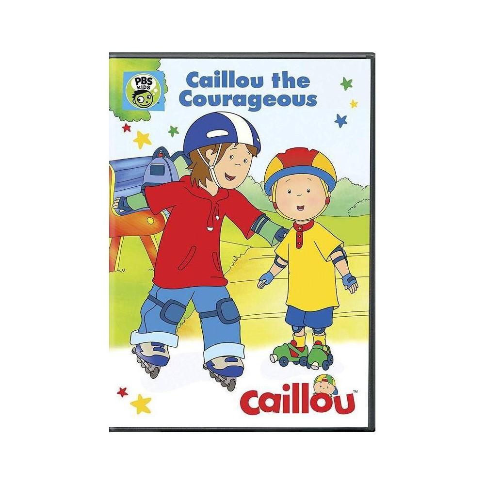 Caillou Caillou The Courageous Dvd 2016