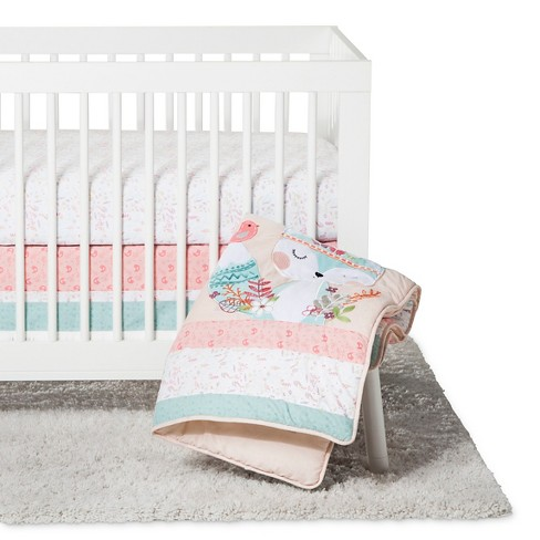 Trend Lab 3pc Crib Bedding Set Wild Forever Target