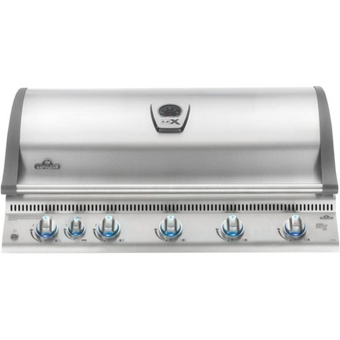 Napoleon Lex 95500 BTU 44'' Wide Six Burner Natural Gas Built-In Grill with Infrared Bottom Burners - image 1 of 1