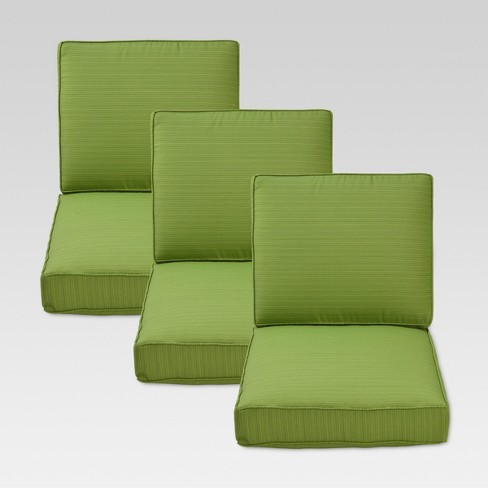 Belvedere 6pc Replacement Outdoor Sofa Cushion Set Threshold