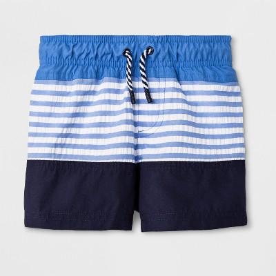 Baby Boys' Swim Trunks - Cat & Jack™ Blue 12M