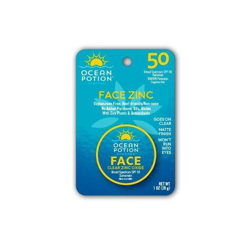 Ocean Potion Face Zinc Sunscreens - SPF 50 - 1oz - image 1 of 2