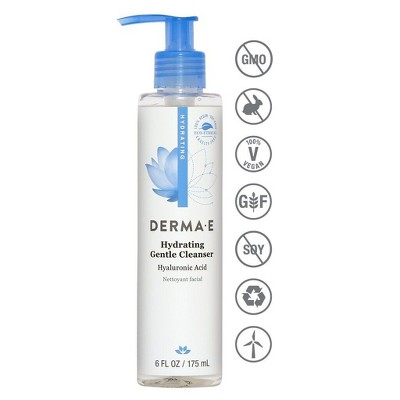 DERMA E Hydrating Cleanser - 6 fl oz