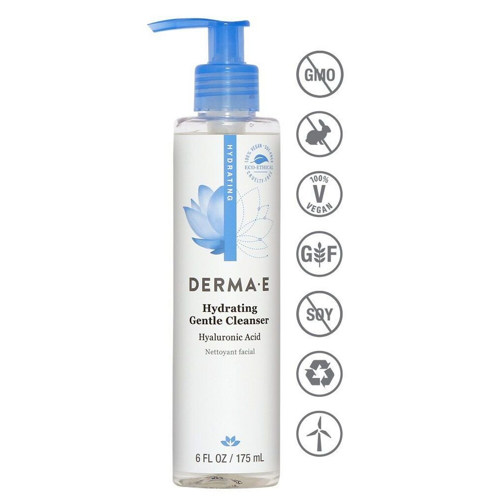 Image of DERMA E Hydrating Cleanser - 6 fl oz
