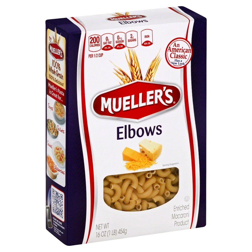 Mueller's Elbow Pasta Macaroni - 16oz