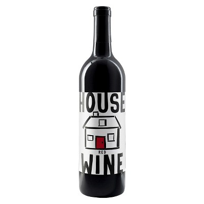 House Wine Red Blend Wine - 750ml Bottle