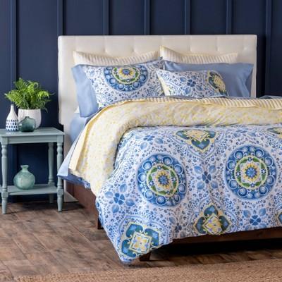Aria Cotton Percale Comforter Set - Martha Stewart