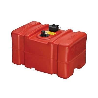 Scepter Eco Friendly OEM Tall Profile 12 Gallon Portable Marine Fuel Tank, Red