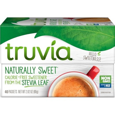 Truvia Calorie - Free Stevia Sweetener Packets - 2.82oz/40pk
