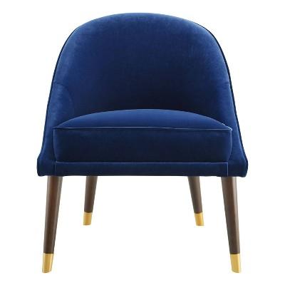 """18"""" Avalon Velvet Accent Chair - Steve Silver"""
