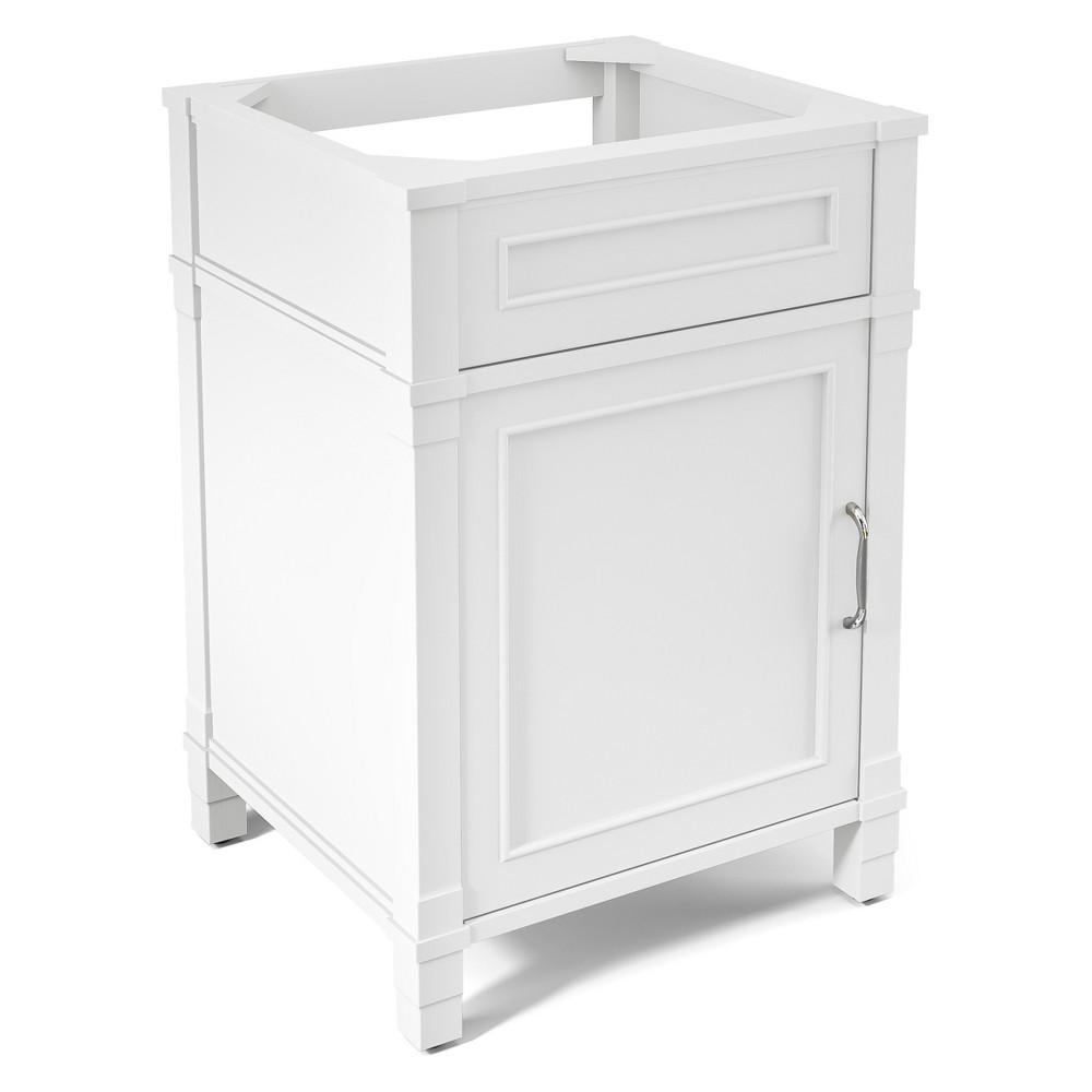 Williamsburg Bath Vanity Cabinet White 23.5 - Alaterre Furniture