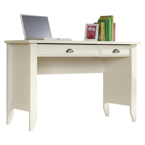 About this item - Shoal Creek Computer Desk With Slide Out Keyboard - Soft White