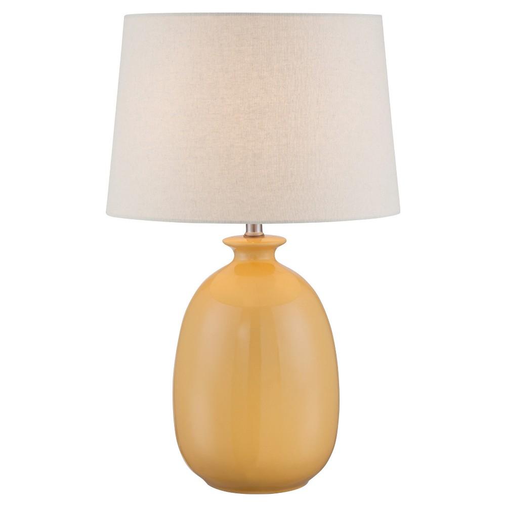 Valora Table Lamp Harvest Yellow (Includes Energy Efficient Light Bulb) - Lite Source