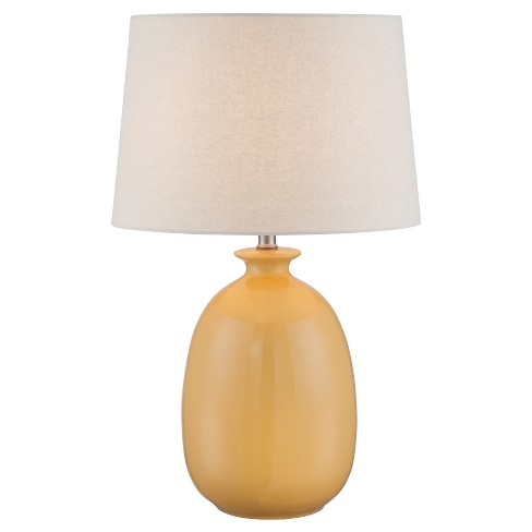 Valora Table Lamp Harvest Yellow (Includes Energy Efficient Light Bulb) - Lite Source - image 1 of 3