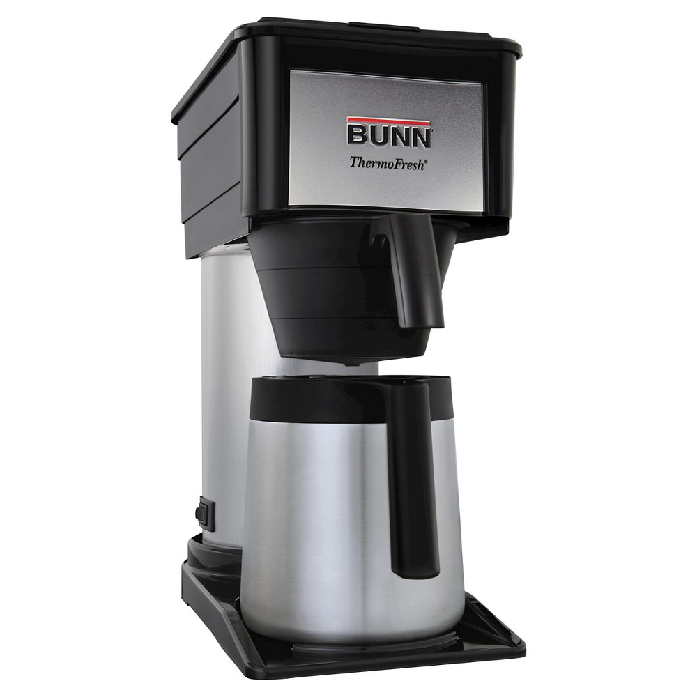 Bunn BT-D Velocity Brew 10 Cup Thermal Coffee Brewer, Black 15609821