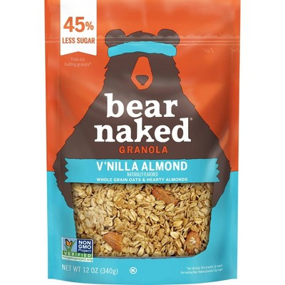 Bear Naked Vanilla Almond Granola - 12oz