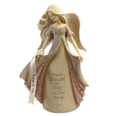 "Foundations 7.5"" 60Th Birthday Angel Danced Day Born  -  Decorative Figurines"