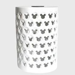 "Disney Mickey Mouse 17"" Solar Power Ceramic Garden Stool White"