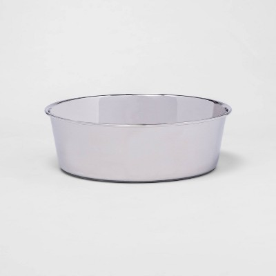 Non-skid Stainless Steel Dog Bowl - 8 cups - Boots & Barkley™