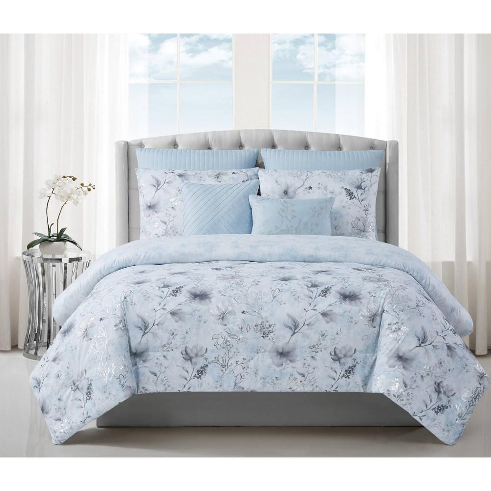 King 7pc Ava Comforter Set Style 212