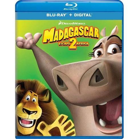 Madagascar Escape 2 Africa Blu Ray Target
