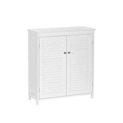 Ellsworth Two Door Floor Cabinet White - RiverRidge Home