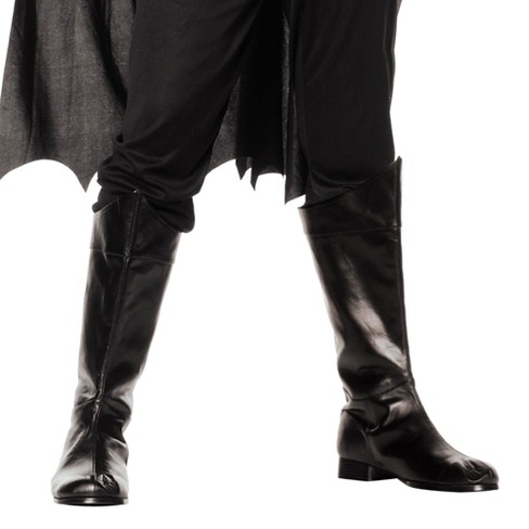 Adult Shazam Costume Boots Black - image 1 of 1