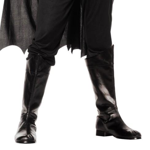 Adult Shazam Boots Black Large Costume - image 1 of 1