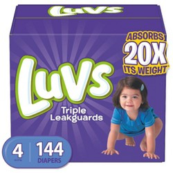 Luvs Disposable Diapers Giant Pack - (Select Size)