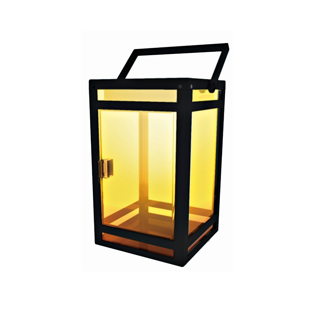 Image of Portable Outdoor Lantern with Clear Panel - Techko Kobot