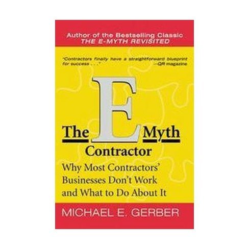 The E-Myth Contractor - by  Michael E Gerber (Paperback) - image 1 of 1