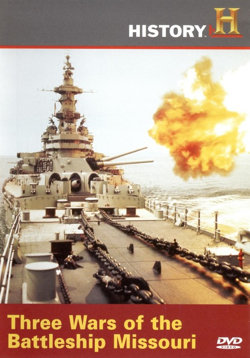 Three wars of the battleship missouri (DVD) - image 1 of 1