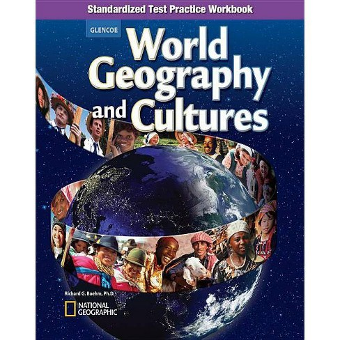 World Geography and Cultures, Standardized Test Practice Workbook - (Glencoe World Geography) - image 1 of 1