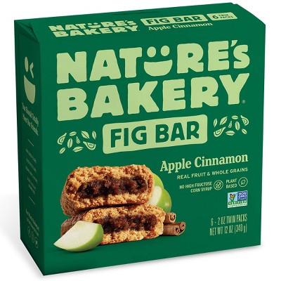 Nature's Bakery Apple Cinnamon Fig Bar - 6ct