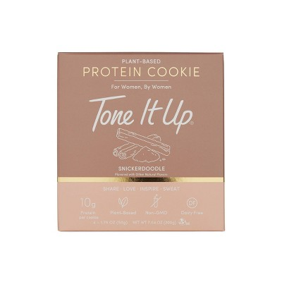 Tone It Up Plant-Based Protein Cookie - Snickerdoodle - 4ct