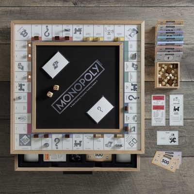Monopoly (Luxe Maple) Board Game