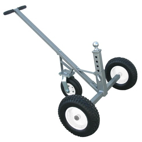 Tow Tuff TMD-800C Adjustable Solid Steel 800 lb Capacity Trailer Dolly w/ Caster - image 1 of 4
