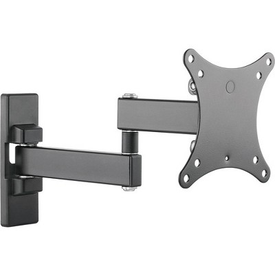 """SIIG Mounting Arm for LCD Monitor, TV - Black - 2 Display(s) Supported27"""" Screen Support - 33 lb Load Capacity"""