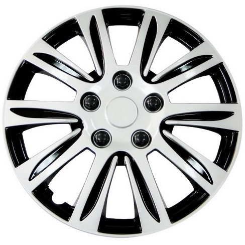 """Pilot 15"""" Set of 4 Automotive Silver Label Premier Wheel Covers - image 1 of 3"""