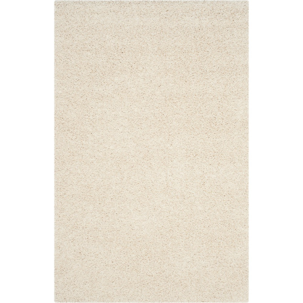 4 39 X6 39 Reedley Solid Loomed Area Rug Off White Safavieh