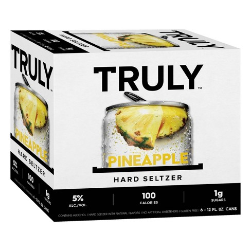 Truly Hard Seltzer Pineapple - 6pk/12 fl oz Cans - image 1 of 3