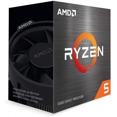 AMD Ryzen 5 5600X 6-core 12-thread Desktop Processor - 6 cores & 12 threads - 3.7 GHz- 4.6 GHz CPU Speed - 35MB Total Cache - PCIe 4.0 Ready