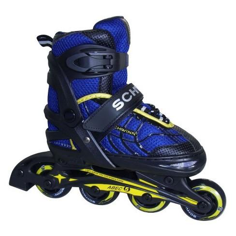 Schwinn Boy's Adjustable Inline Skate - Black/Blue 5-8 - image 1 of 4