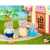 Li'l Woodzeez Miniature Animal Figurine Set - Oliphant Elephant Family - image 2 of 4