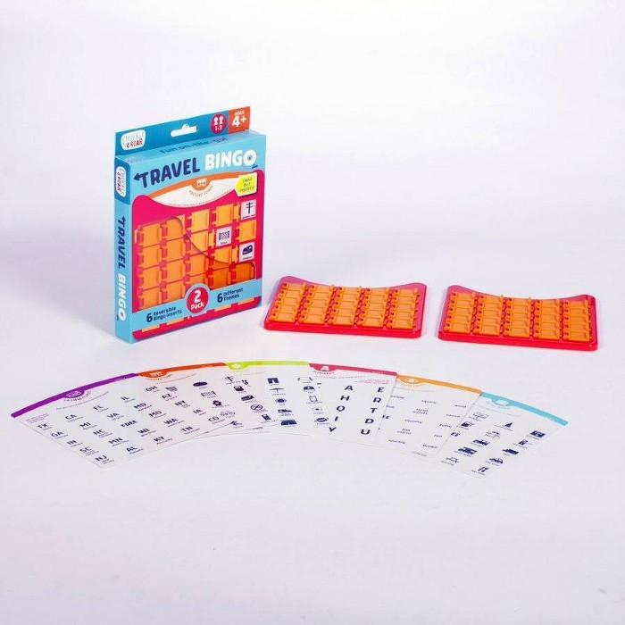 Chuckle & Roar Travel Bingo Game - image 1 of 8