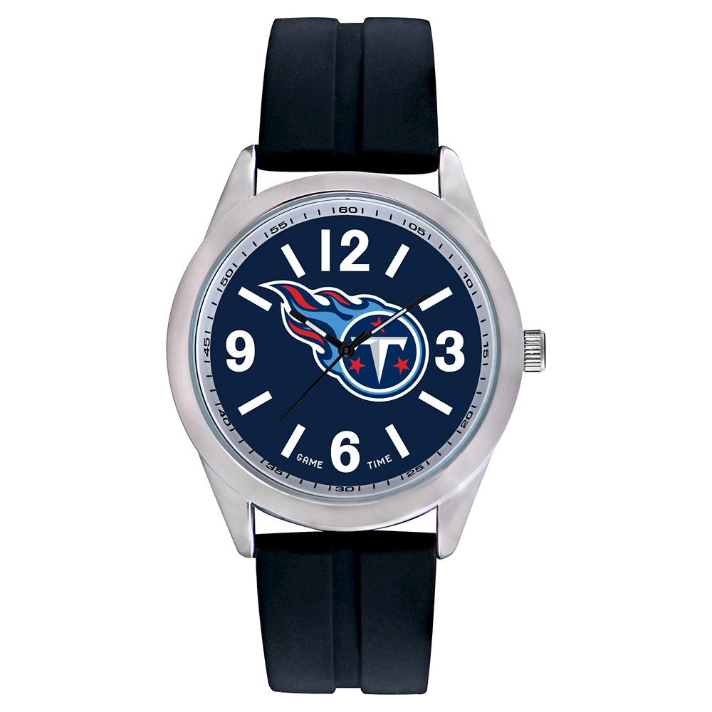 Men's Game Time NFL Varsity Sports Watch - Black - Tennessee Titans