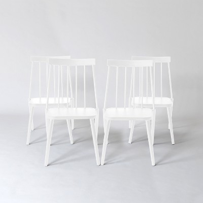 Windsor 4pk Patio Dining Chair - White - Project 62™