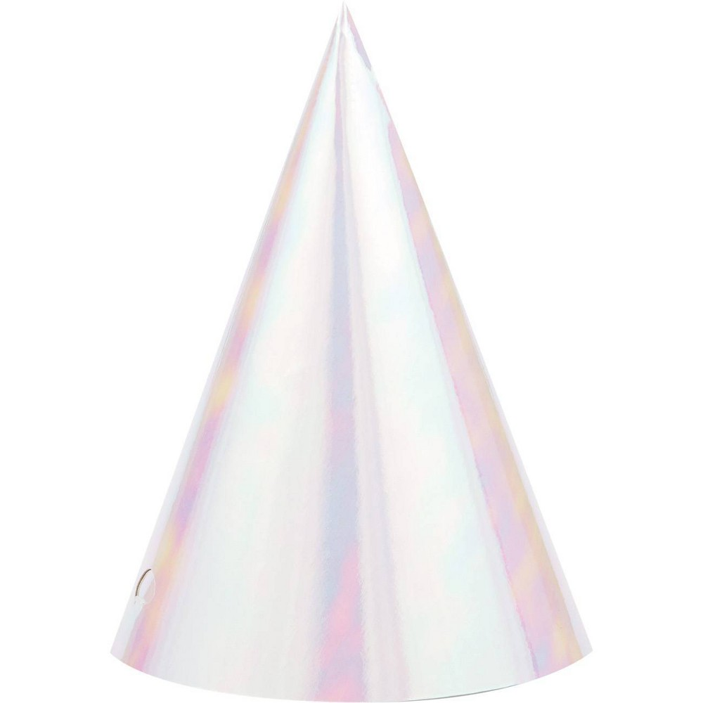 Image of 24ct Iridescent Party Hats
